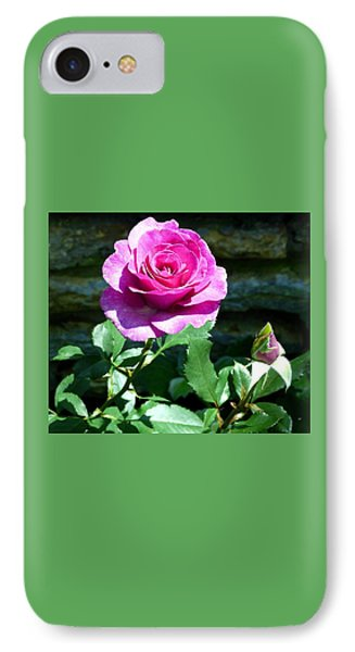 IPhone Case featuring the photograph Beauty And The Bud by Will Borden