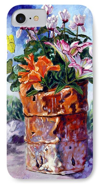 Beauty Grows Everywhere Phone Case by John Lautermilch
