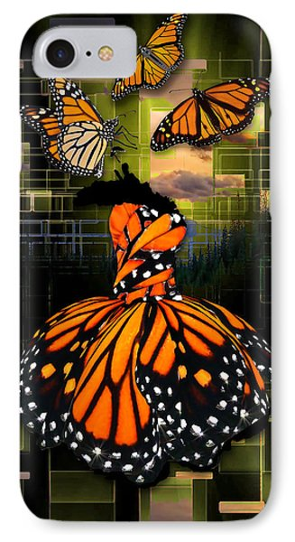 IPhone Case featuring the mixed media Beauty In All Things by Marvin Blaine