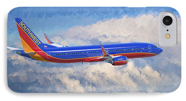 Airplane iPhone 7 Case - Beauty In Flight by Garland Johnson
