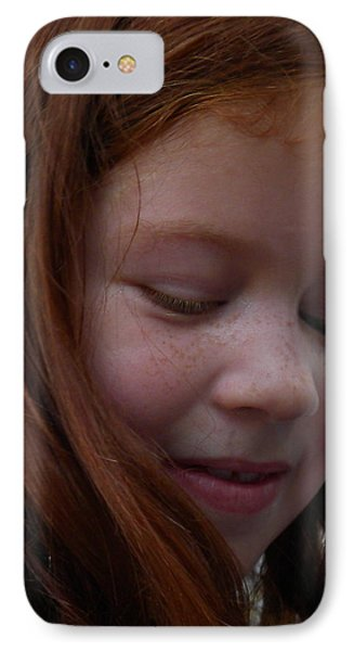 Beauty In Red Phone Case by Fanny Diaz