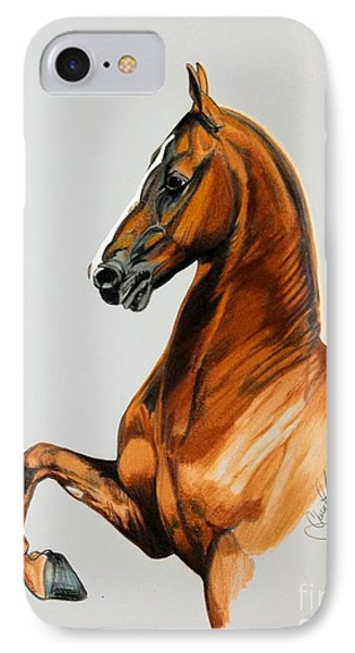 Sirtainly Stylish  - Saddlebred IPhone Case by Cheryl Poland