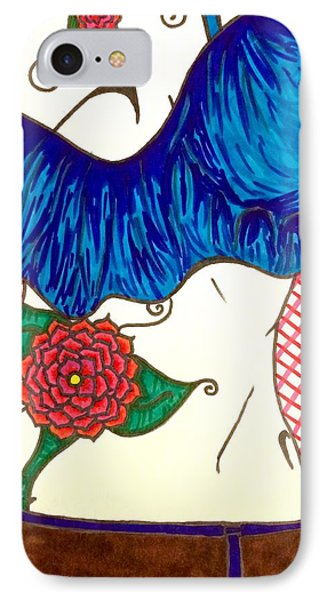 Beauty Is Skin Deep IPhone Case by Monica Kemsley