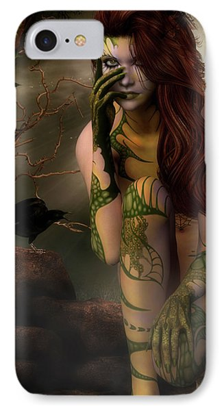 Beauty Is The Beast IPhone Case by Autumn Moon