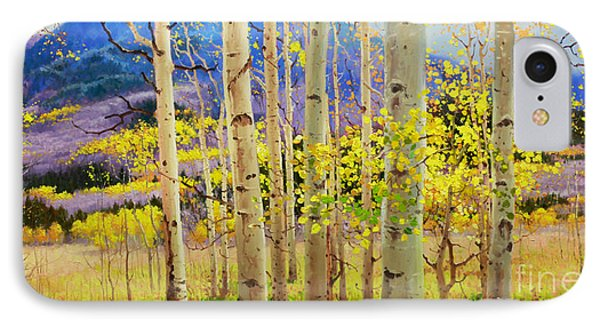 Beauty Of Aspen Colorado IPhone Case by Gary Kim