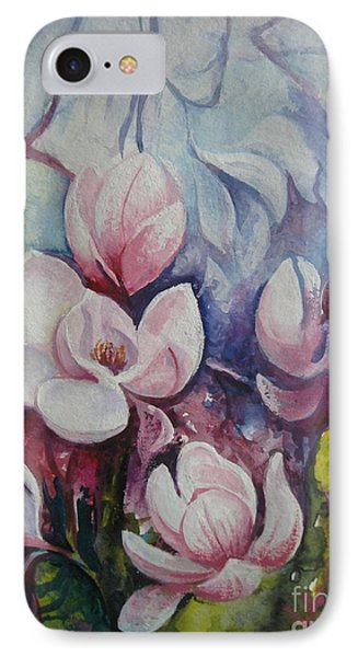 IPhone Case featuring the painting Beauty Of Spring by Elena Oleniuc