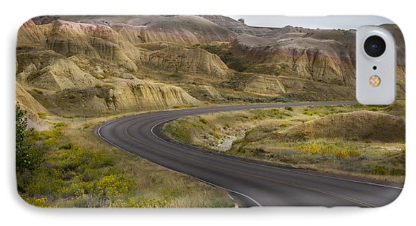 IPhone Case featuring the photograph Beauty Of The Badlands South Dakota by John Hix