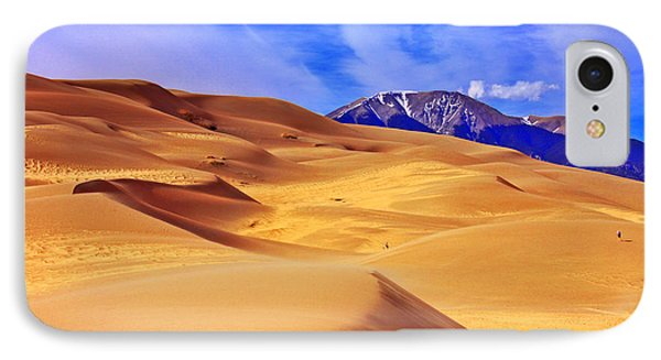 Beauty Of The Dunes Phone Case by Scott Mahon