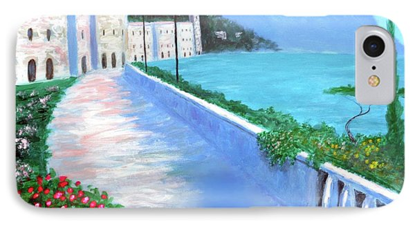 Beauty Of The Riviera IPhone Case by Larry Cirigliano