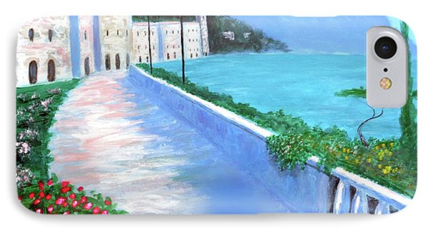 IPhone Case featuring the painting Beauty Of The Riviera by Larry Cirigliano