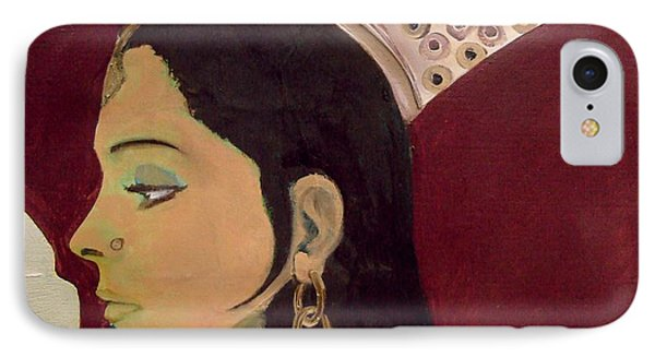 Beauty Queen Of The Mughals IPhone Case by Saad Hasnain