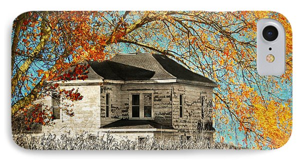 Beauty Surrounds Deserted Home IPhone Case by Kathy M Krause