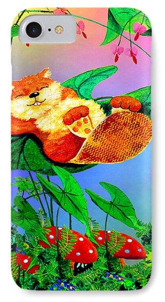 Beaver Bedtime IPhone Case by Hanne Lore Koehler