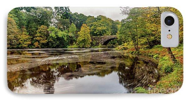 Beaver Bridge Autumn IPhone Case by Adrian Evans