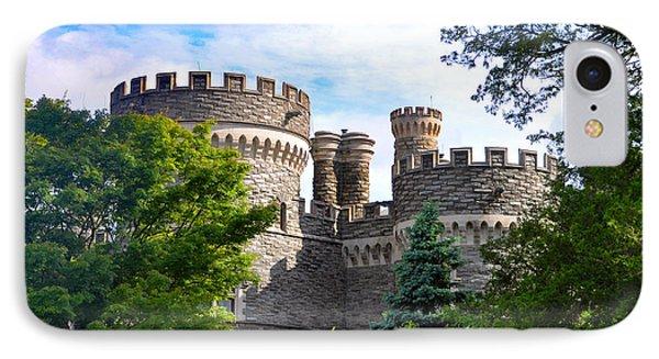 Beaver College Castle - Glenside Pennsylvania IPhone Case by Bill Cannon