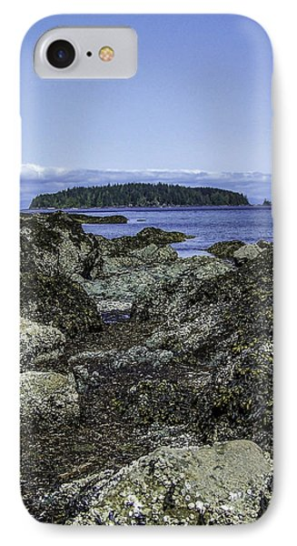 Morning Fog In The Harbor 1 IPhone Case by Larry Kohlruss