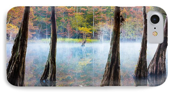 Beavers Bend Cypress Grove IPhone 7 Case by Inge Johnsson
