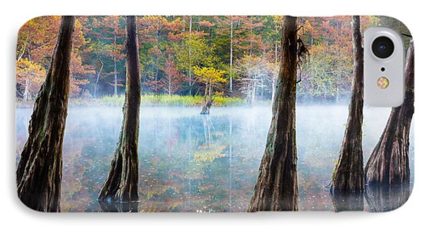 Beavers Bend Cypress Grove IPhone Case by Inge Johnsson