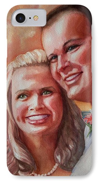 Becky And Chris IPhone Case by Marilyn Jacobson
