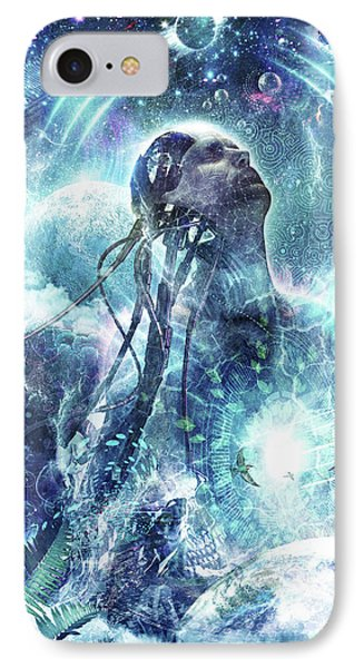 Become The Light Phone Case by Cameron Gray