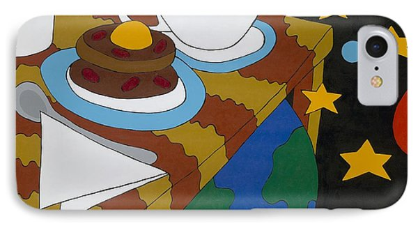 Bed And Breakfast IPhone Case by Rojax Art