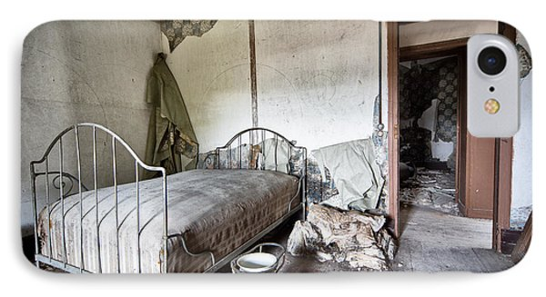 Bed Time - Urban Exploration And Decay IPhone Case