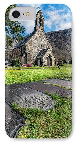 Beddgelert Church IPhone Case