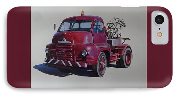 IPhone Case featuring the painting Bedford S Type Wrecker. by Mike  Jeffries