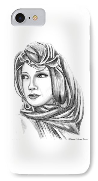 Bedouin Woman IPhone Case