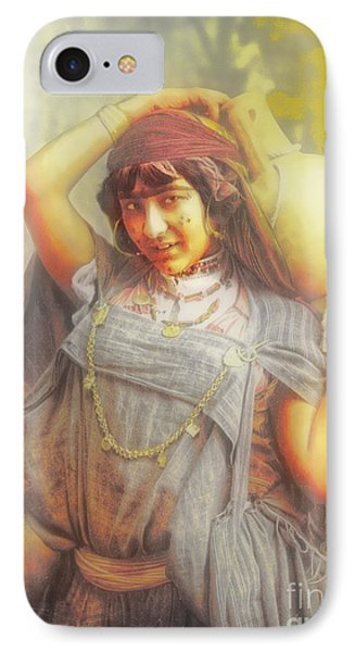 Bedouine Water Carrier IPhone Case by Jack Torcello