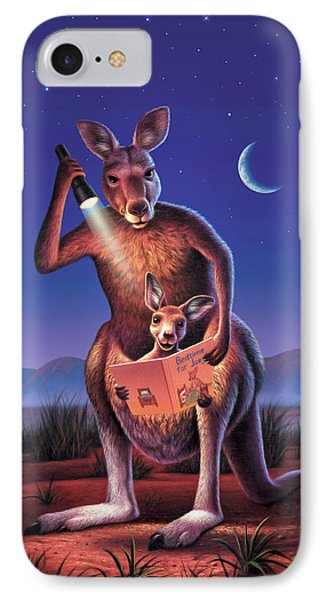 Bedtime For Joey IPhone Case by Jerry LoFaro