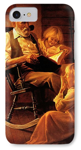 Bedtime Stories IPhone Case by Greg Olsen