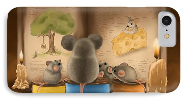 Bedtime Story IPhone 7 Case by Veronica Minozzi