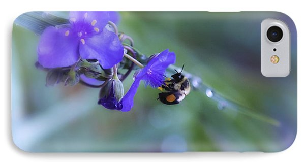 Bee Harmony IPhone Case by Mary Lou Chmura