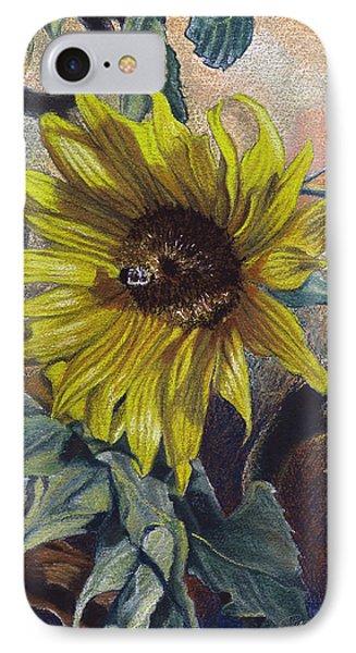 Bee In A Bonnet IPhone Case by Peter Muzyka