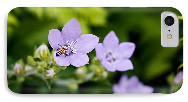 Bee On Lavender Flower IPhone Case