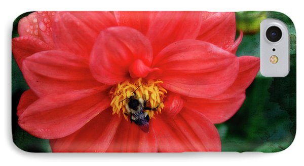 IPhone Case featuring the photograph Bee-utiful by Joan Bertucci