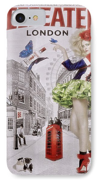 Beefeater Gin IPhone Case by Mary Machare