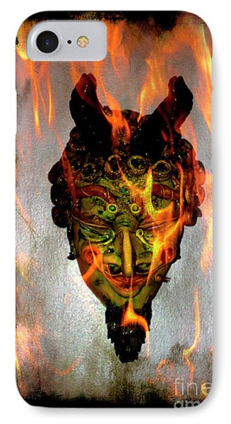 IPhone Case featuring the photograph Beelzebub Iv by Al Bourassa