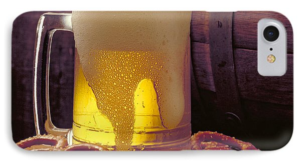 Beer And Pretzels Phone Case by Thomas Firak