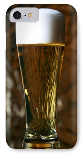 Beer God's Gift To Man IPhone Case by Michael Ledray