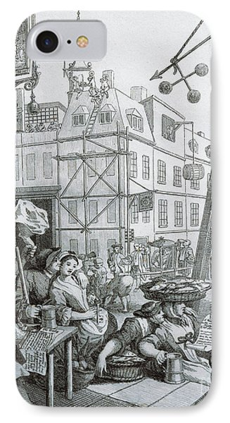 Beer Street In London IPhone Case by William Hogarth