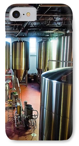 IPhone Case featuring the photograph Beer Vats by Linda Unger