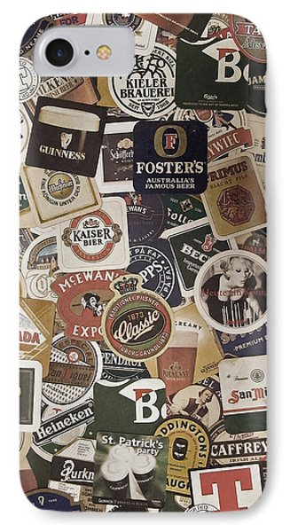 Beers Of The World IPhone Case by Nicklas Gustafsson
