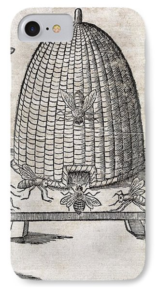 Bees And Beehive, 17th Century Artwork Phone Case by Middle Temple Library