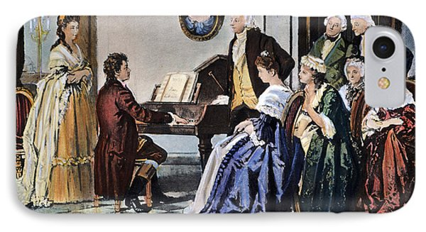 Beethoven & Mozart, 1787 IPhone Case
