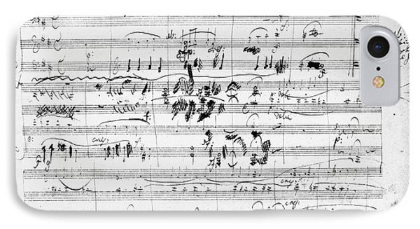 Beethoven: Ghost Trio Phone Case by Granger