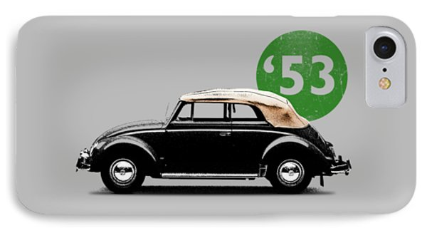 Beetle 53 IPhone Case by Mark Rogan