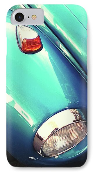 IPhone Case featuring the photograph Beetle Blue by Rebecca Harman