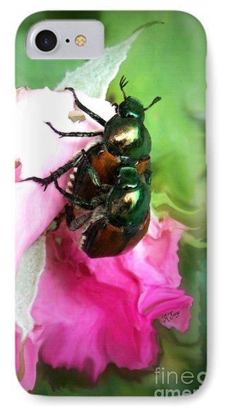 Beetle Invasion IPhone Case by Anita Faye